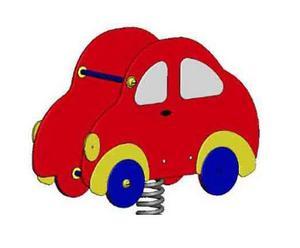 Качалка на пружине Автомобиль ДП525