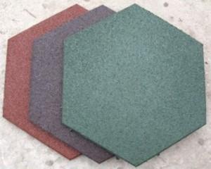 Плитка резиновая декоративная